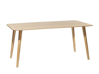 Rectangular dining table MALMÖ | Rectangular table