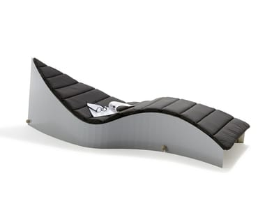 Laminated wood Chaise longue / sun lounger KOII