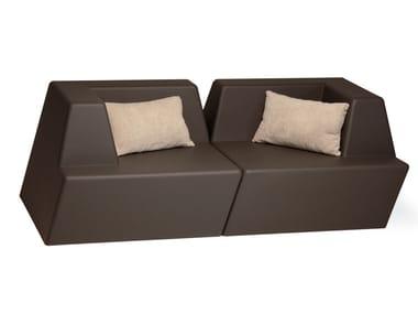 2 seater foam sofa UNIVERS   2 seater sofa