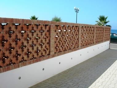 جزء خاص من الآجر للحوائط غير المدهونة FRANGISOLE