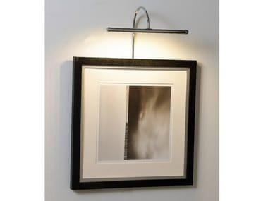 Lampada da parete a LED in metallo per quadri 53010 | Lampada da parete per quadri