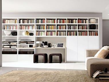 Libreria componibile laccata modulare Z70