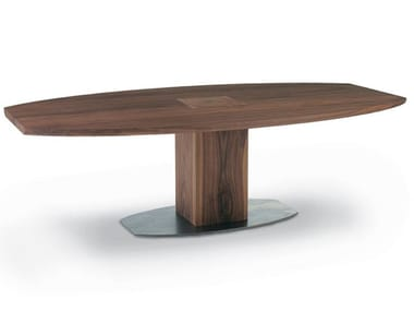 Oval solid wood table BOSS EXECUTIVE | Oval table