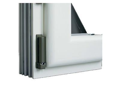 Finestra in alluminio e legno con anta in Fibex Serie 502
