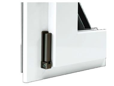 Finestra in alluminio e legno con anta in Fibex Serie 503