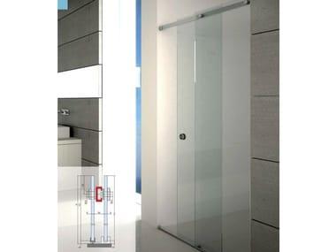 Shower cabin with sliding door BX-1500 | Shower cabin