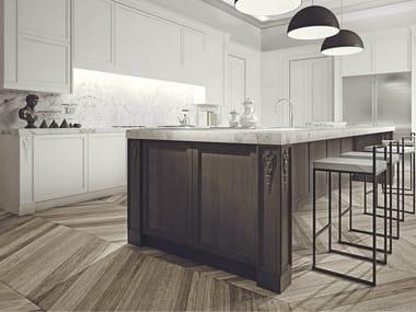 Wooden kitchen with island AETERNA | Kitchen