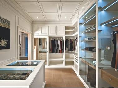 Wooden boiserie / walk-in wardrobe PROGETTA | Walk-in wardrobe