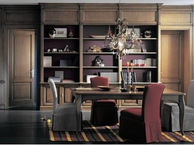 Wooden boiserie / bookcase PROGETTA | Bookcase
