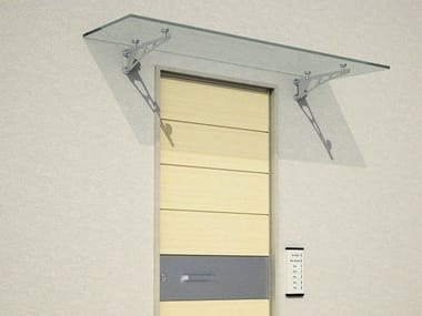 Glass door canopies archiproducts glass door canopy tecno planetlyrics Image collections