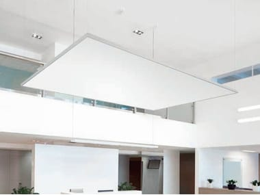 Acoustic ceiling clouds THERMATEX® Sonic modern