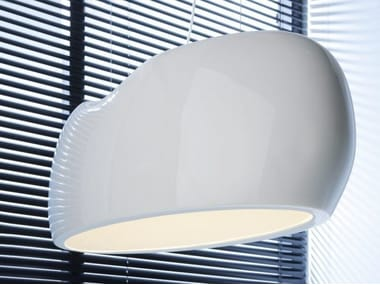 Plexiglass pendant lamp CANOE