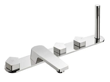 5 hole bathtub set with hand shower PARK | Bathtub set
