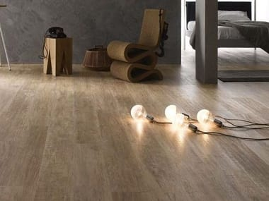 Porcelain stoneware flooring with wood effect FOREST