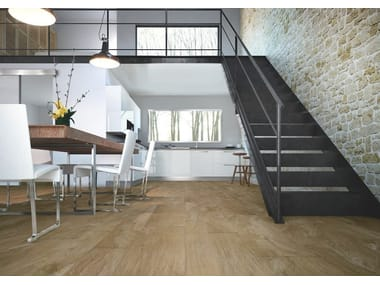 Porcelain stoneware flooring with wood effect ULIVO | Flooring