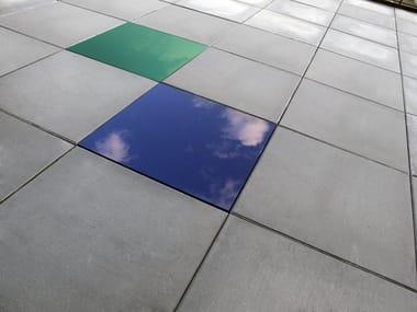 Glass outdoor floor tiles GLI SPECIALI | GLASS
