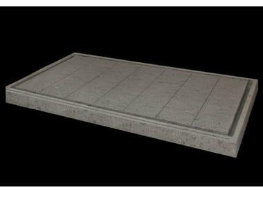 Rectangular natural stone shower tray DIAMANTE