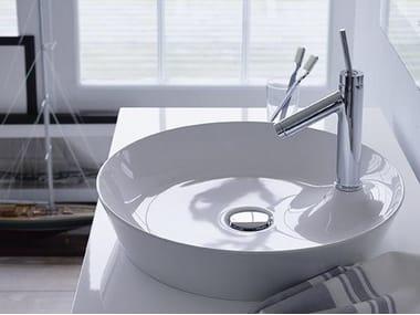 Lavabo da appoggio rotondo in DuraCeram® CAPE COD | Lavabo rotondo