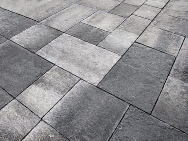 Outdoor wall/floor tiles with stone effect EMOTION 20mm