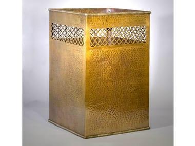 Bronze waste bin 48300 | Waste bin