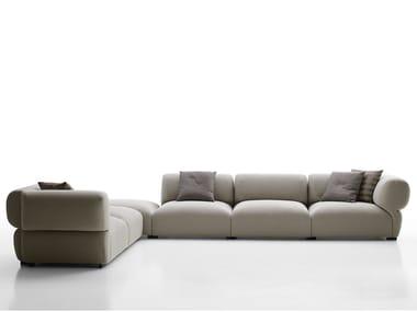 Corner sectional fabric sofa BUTTERFLY   Corner sofa