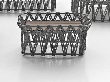 Rectangular ash garden side table BUTTERFLY   Rectangular coffee table