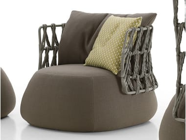 Upholstered garden armchair FAT-SOFA OUTDOOR | Armchair