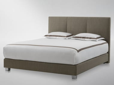 High upholstered headboard for double bed KATE