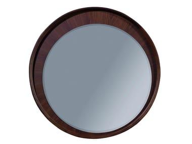 Wall-mounted framed round mirror BEAUCHAMP | Mirror