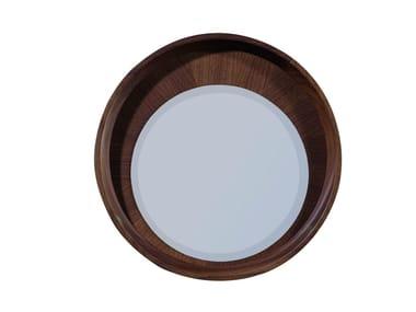 Wall-mounted framed round mirror BEAUCHAMP | Framed mirror