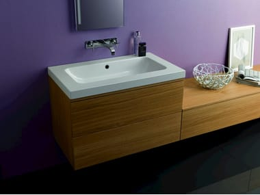 Single wall-mounted vanity unit BETTEMODULES | Single vanity unit