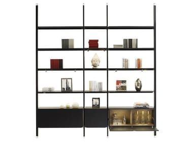 Open double-sided bookcase MAGIC MATRIX | Open bookcase