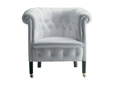 Tufted armchair FUMOIR | Armchair