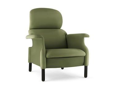 Armchair with armrests SANLUCA | Armchair