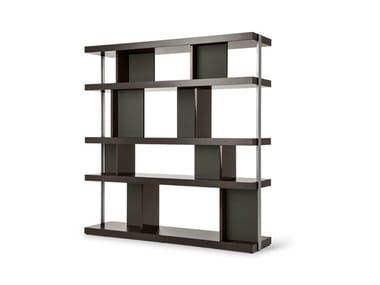 Double-sided wooden bookcase JOBS | Double-sided bookcase