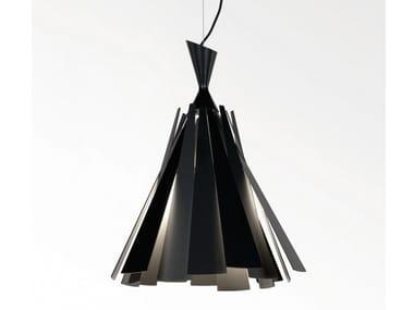 Aluminium pendant lamp METRONOME L