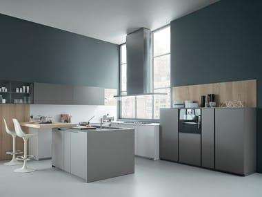 Cucina in rovere FIFTY | Composizione 02 By Zampieri Cucine design ...