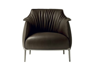Leather armchair ARCHIBALD | Armchair