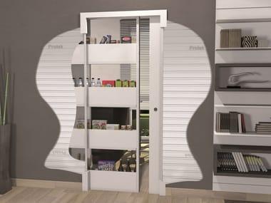 Controtelaio per porta scorrevole con contenitore BIGFOOT® AMERICA + STANDARD