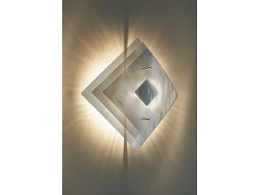 Halogen steel wall light ECLIPSE N°8A | Wall lamp