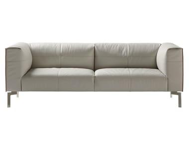 Sofá de pele BOSFORO | Sofá