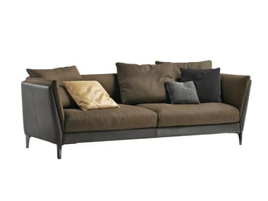 2 seater leather sofa BRETAGNE | 2 seater sofa