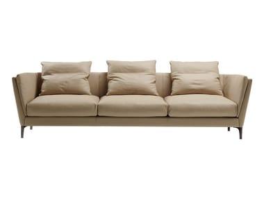 3 seater leather sofa BRETAGNE | 3 seater sofa