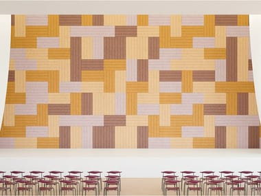 Acoustic Wood Wool Panels BAUX ACOUSTIC PANEL LINES
