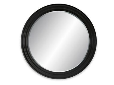 Round wall-mounted framed mirror MAGNUM WALL