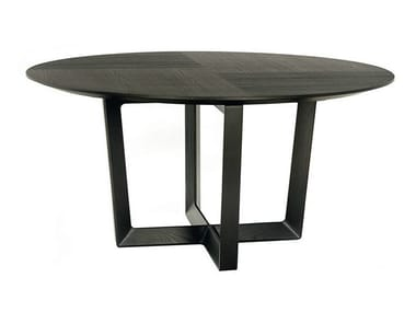 Round solid wood table BOLERO | Round table
