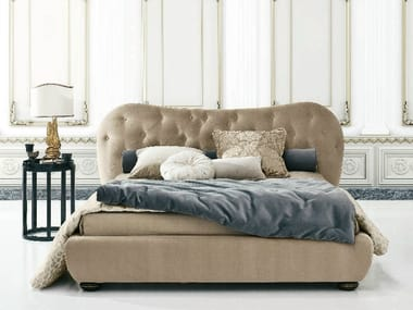 Double bed with tufted headboard GIULIETTA FREE