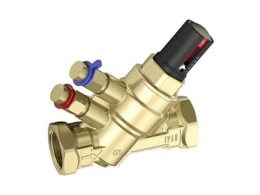 Pressure-independent dynamic balancing valves PICV