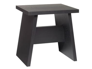 Solid wood stool / coffee table LANGLEY