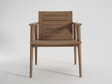Garden teak easy chair VINTAGE OUTDOOR | Easy chair